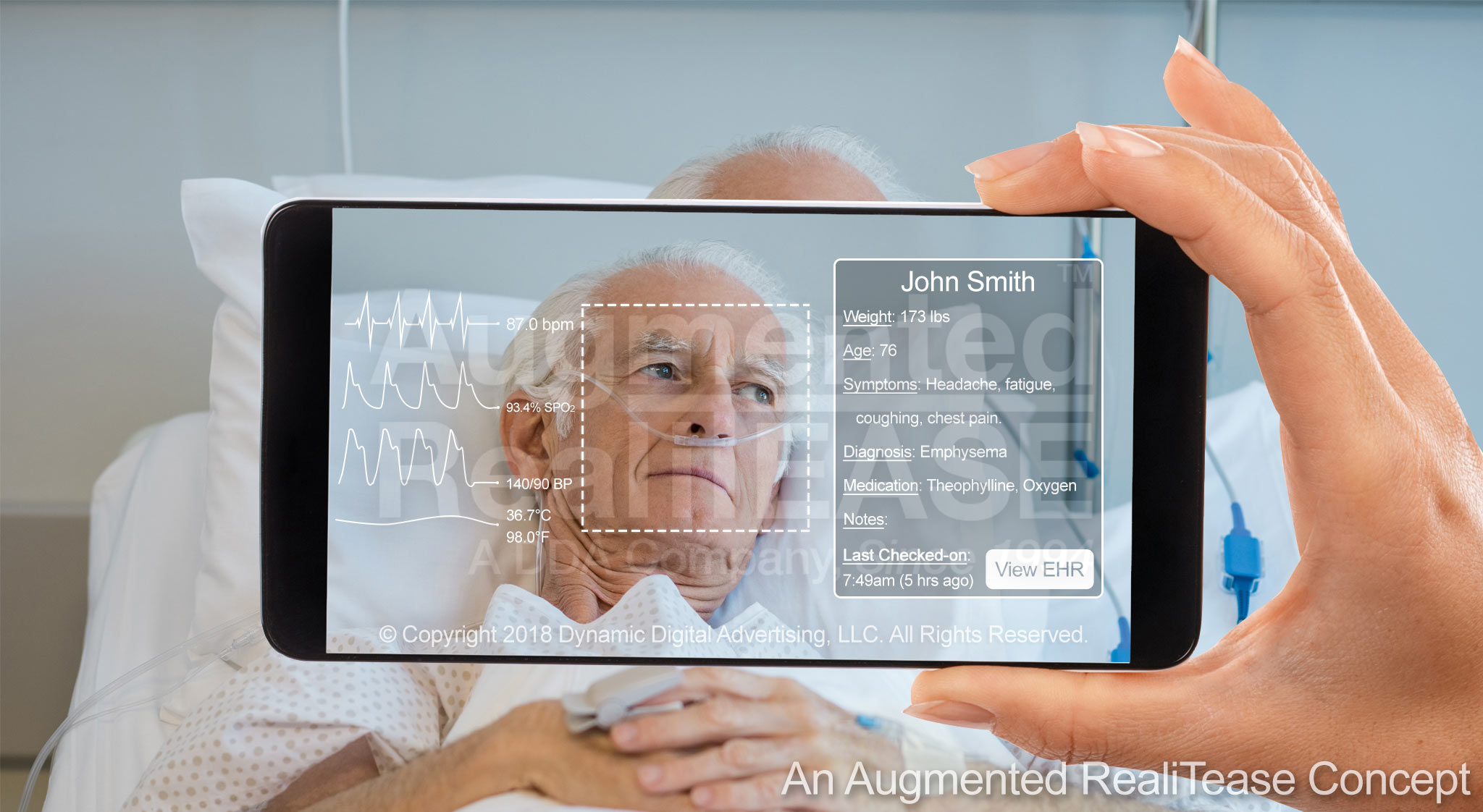 Patient Information Augmented Reality Application