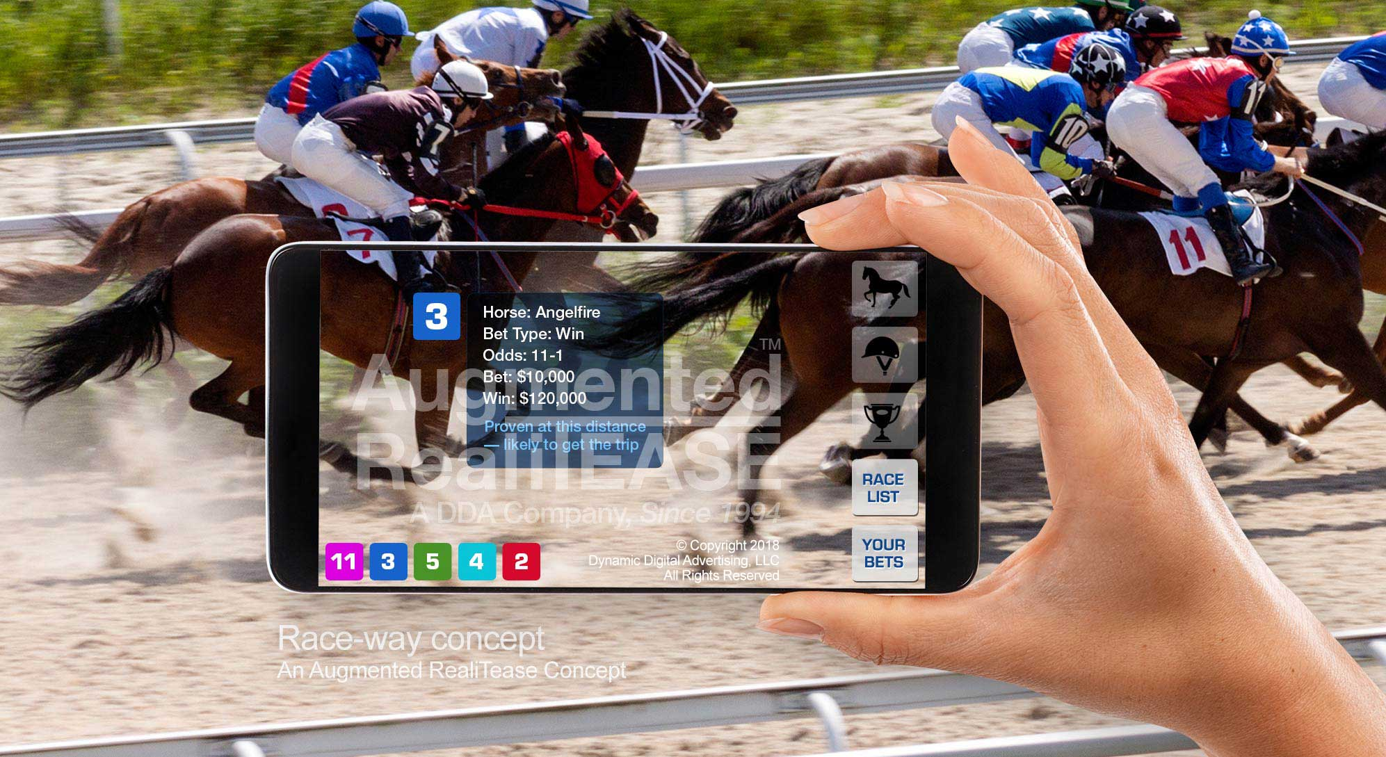 Augmented Reality Racehorse ID App - Augmented RealiTease