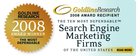 The ten most dependable search engine marketing firms of the United States.